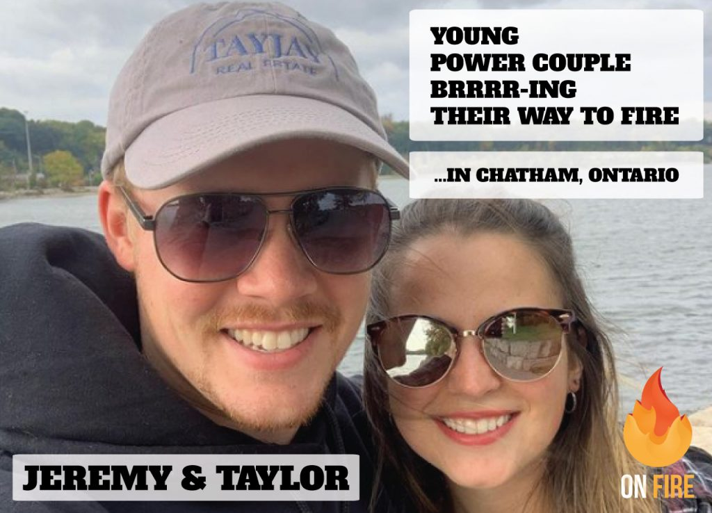 Young Power Couple BRRRR-ing their way to Fire in Chatham Ontario